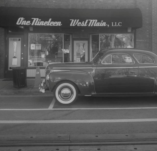 The owner of this '41 Dodge knows where to eat!